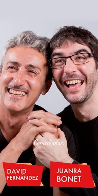 Juanra Bonet y David Fernandez chiquilicuatre